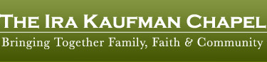 The IRA Kaufman: Brining Together Family, Faith & Community